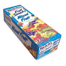 Welchs Mixed Fruit Snacks 225 oz
