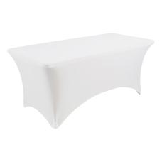 Iceberg Stretch Fabric Table Cloth 72