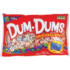 Dum Dum Pops Assorted Flavors Individually