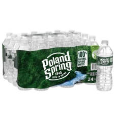 Poland Spring Brand 100percent Natural Spring