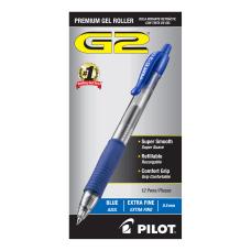 Pilot G2 Retractable XFine Gel Ink