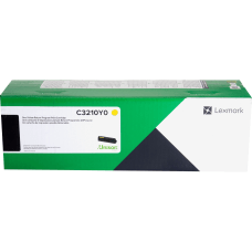 Lexmark Original Toner Cartridge Yellow Laser