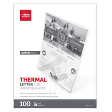 Office Depot Brand Thermal Laminating Pouches