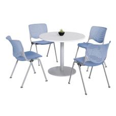 KFI Studios KOOL Round Pedestal Table