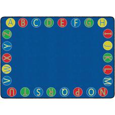 Flagship Carpets Alphabet Circles Rug 6