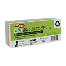 Redi Tag FSC Certified 100percent Recycled