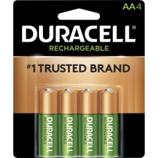 Duracell StayCharged AA Rechargeable Batteries For