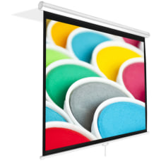 PyleHome PRJSM9406 84 Manual Projection Screen