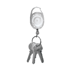 Tatco Reel Key Chain With Carabiner