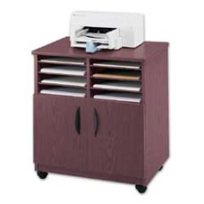 Safco Mobile Machine Stand With Sorter