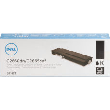 Dell Black original toner cartridge for