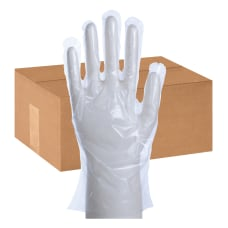 Packaging Dynamics Poly Gloves Large 100