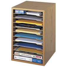 Safco Vertical Desk Top Sorter 11