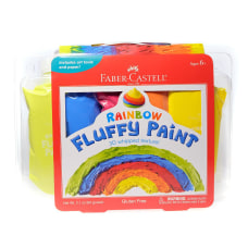 Faber Castell Fluffy Paint Kit Rainbow