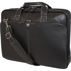 Mobile Edge 16 Deluxe Leather Briefcase