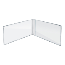 Azar Displays Acrylic Dual Photo Frames