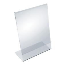 Azar Displays Acrylic Vertical L Shaped