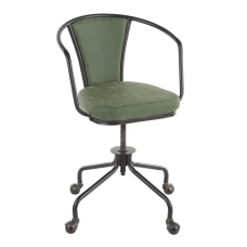 LumiSource Oregon Mid Back Task Chair