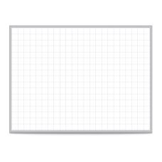 Ghent Grid Magnetic Dry Erase Whiteboard