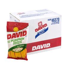 David Pumpkin Seeds 225 oz 12