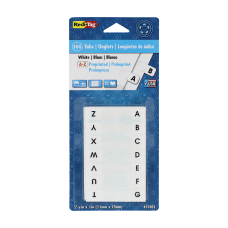 Redi Tag Permanent Index Tabs Alphabetical
