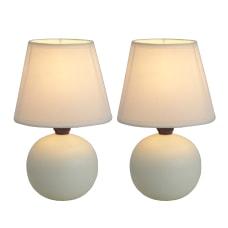 Simple Designs Mini Globe Table Lamps