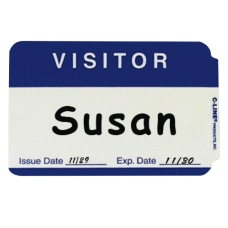 C Line Visitor Badges Rectangle 3