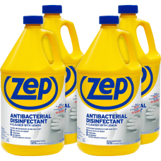 Zep Antibacterial Disinfectant Cleaner with Lemon