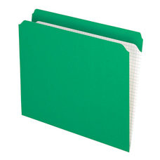 Pendaflex Reinforced Top File Folders Straight