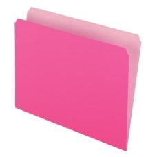 Pendaflex Straight Cut Color File Folders
