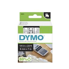 DYMO D1 43613 Black On White