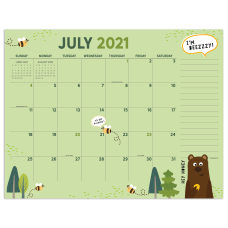 TF Publishing Large Desk Pad Calendar