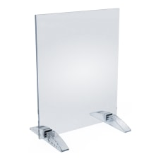 Azar Displays Dual Stand VerticalHorizontal Acrylic