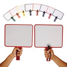 KleenSlate Rectangular Dry Erase Whiteboard BlankGraph