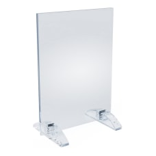 Azar Displays Dual Stand Acrylic Sign