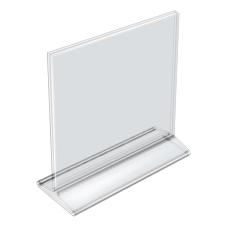 Azar Displays Acrylic Vertical 2 Sided