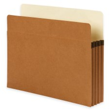 Smead SuperTab File Pockets Straight Cut
