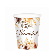 Amscan Classic Thanksgiving Paper Cups 9