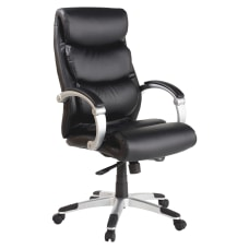 Lorell Bonded Leather High Back Chair