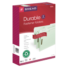 Smead Pressboard Fastener Folders 1 Expansion