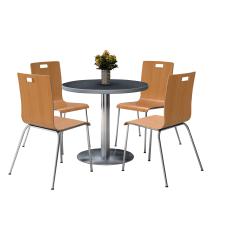 KFI Studios Jive Round Pedestal Table
