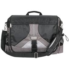 Overland Geoffrey Beene Messenger Bag With