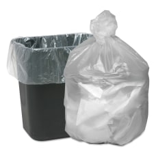Webster 001 mil Trash Bags 17