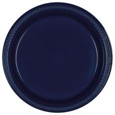 Amscan Round Plastic Plates 7 True