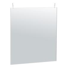 Azar Displays Hanging Acrylic Poster Frame