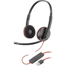 Plantronics Blackwire C3220 Headset Stereo USB