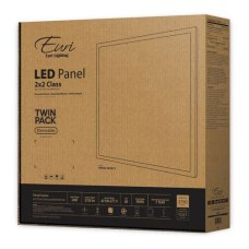 Euri Indoor LED Flat Panel Fixtures