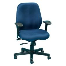 Eurotech Multifunction Task Chair NavyBlack