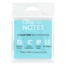 Office Depot Cling Notes 3 x
