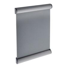 Azar Displays Vertical Door Sign Metal